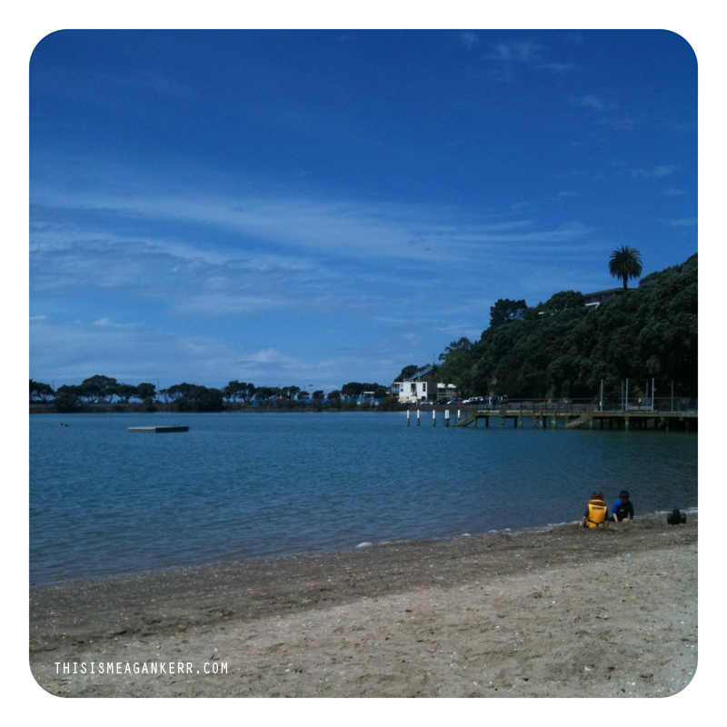 I spent New Years Day swimming at Judges Bay - bliss!