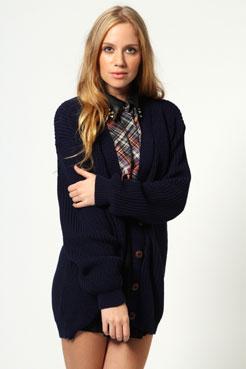 Nicola Knitted Cardigan - $50 from boohoo.co.nz
