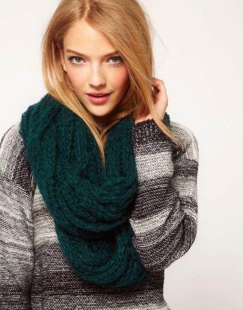 ASOS Textured Knit Snood, $24.13 from ASOS