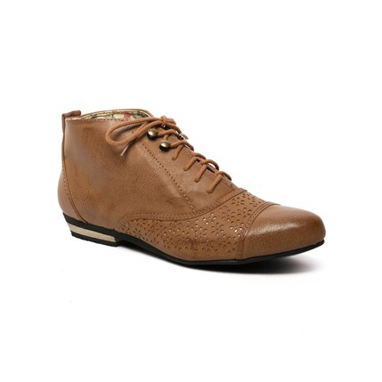 Number One Shoes Morrison Ankle Boots Tan