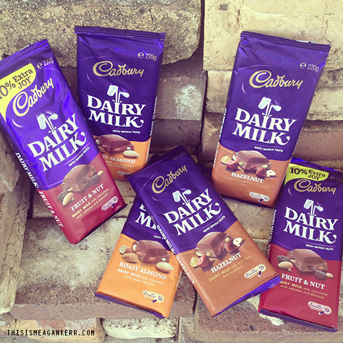 Cadbury Chocolate Giveaway - This is Meagan Kerr