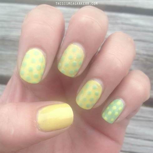 Orly Hope and Freedom Fest Polka Dot Spring Nail Tutorial