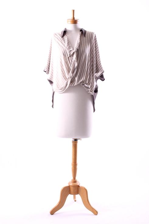 Obi Dynamo Drape Shirt $249