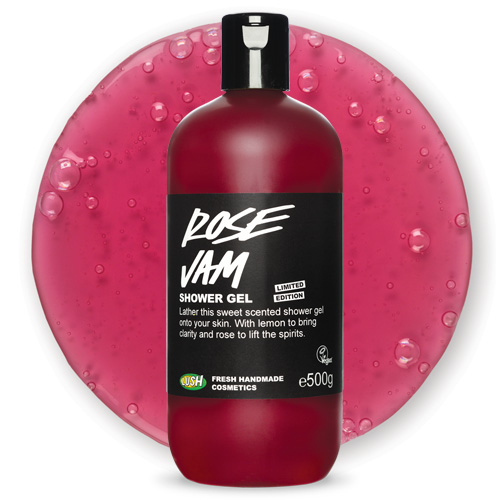Review Rose Jam Shower Gel From Lush